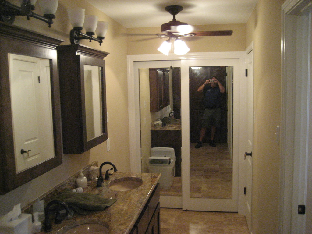 Master bathroom and closet renovation blackwell sons for Bathroom construction